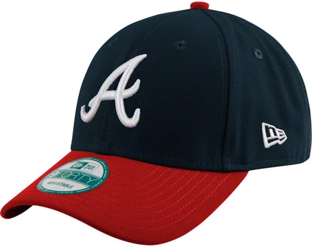 Atlanta Braves MLB adulto 9FORTY New Era gorra ajustable: Amazon ...