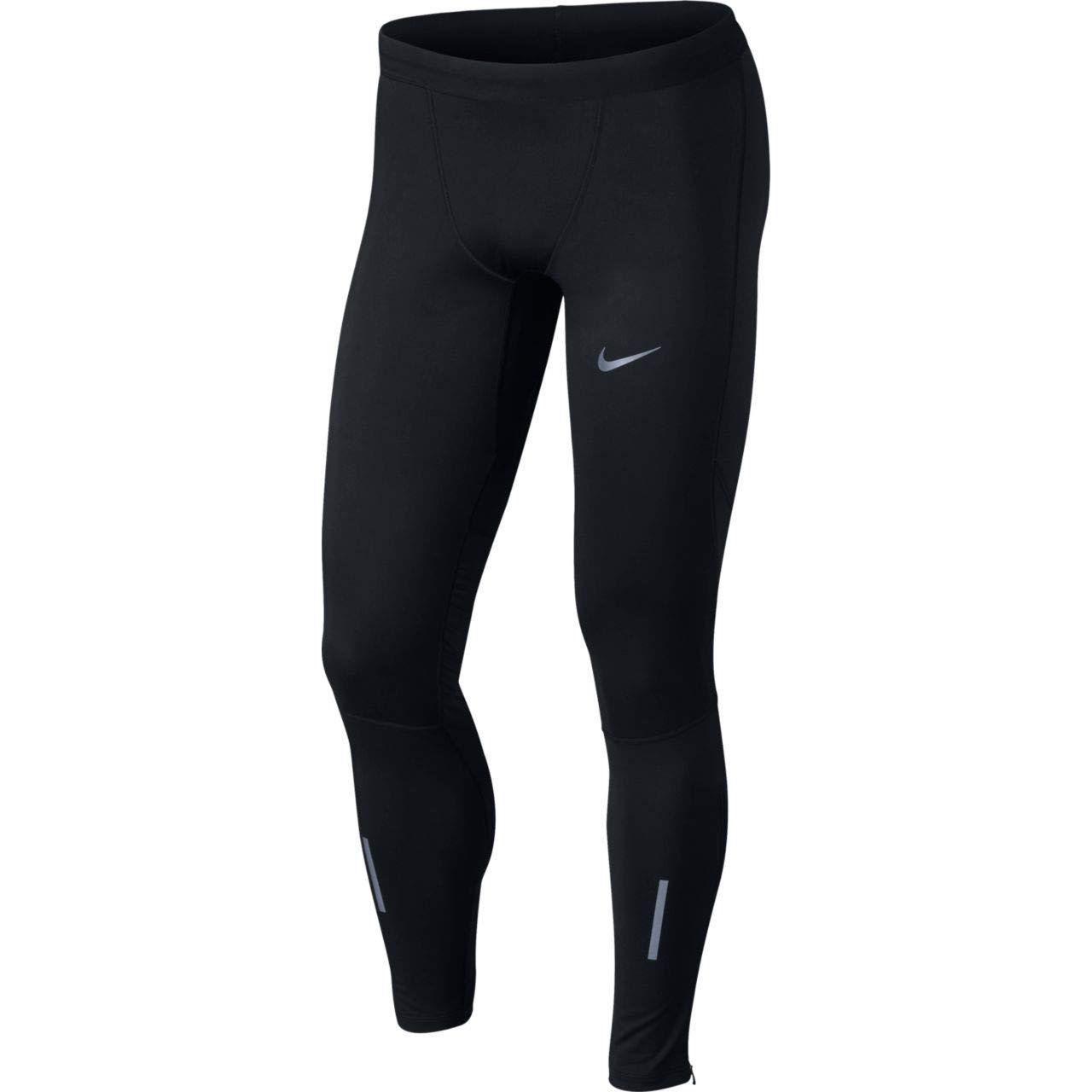 Nike Shield Tech Men's 30'' Running Tights (Black, Medium)