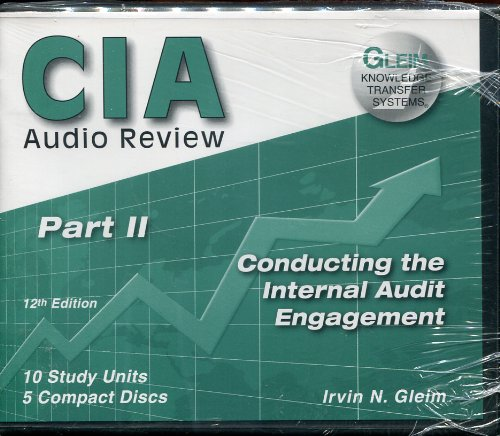 Conducting the Internal Audit Engagement, Part 2, 12 Edition