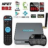 NPET BB2 MECOOL Amlogic S912 Android 6.0 Octa Core TV Box KODI 17.0 Bluetooth 4.0 2G 16G Streaming Media Player with Backlit Keyboard