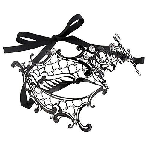 de Sexy Pour Masque Party Costum Masquerade 3 Vococal un Visage style Noire Masque Dentelle 6qcw805