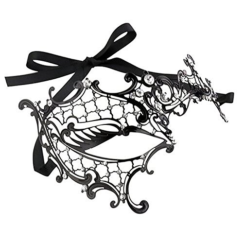 Pour Masque Costum un Visage Masquerade Party de Sexy Vococal Noire 3 Dentelle Masque style 86TqdFw