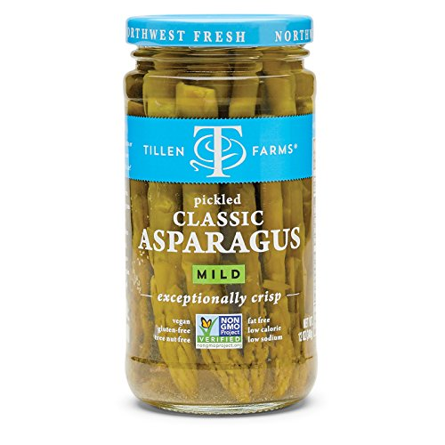 Tillen Farms Mild Pickled Asparagus, 12 oz (Pickled Asparagus)