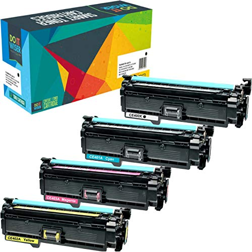 Do it Wiser Compatible Toner Cartridge Replacement for HP 50