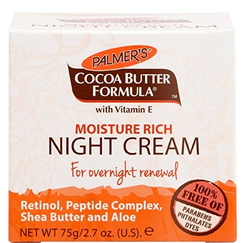 Palmer's Cocoa Butter Formula Moisture Rich Night Cream, 2.70 oz ( Pack of 2) (Shea Butter Night Cream)