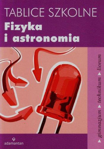 Tablice szkolne Fizyka i astronomia Tablice szkolne Fizyka i astronomia