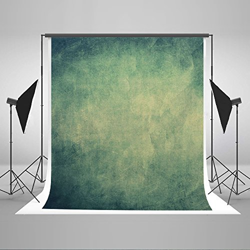 Kate 6.5ft(W) x10ft(H) Portrait Photography Backdrops Microfiber Green Abstract Photo Studio Backdrop