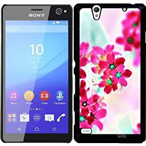 Funda para Sony Xperia C4 - Flores De Color Rosa Ii by LoRo-Design