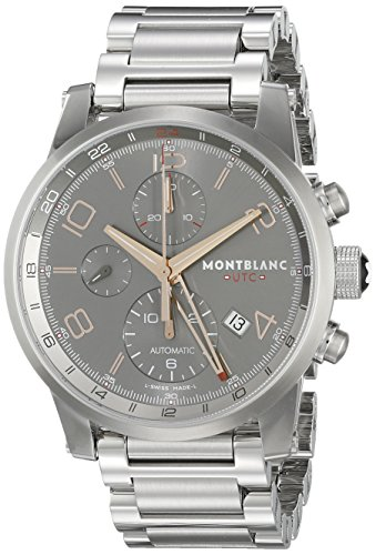 Montblanc Timewalker ChronoVoyager UTC Men's Stainless Steel Swiss Automatic Watch ()