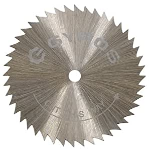 "Gyros 81-21515 Saw Blade, Coarse-Teeth 1-1/2"" Dia. For Dremel Type Tools"