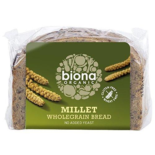 (4 PACK) - Biona - Organic Millet Bread   250g   4 PACK - Bread Millet
