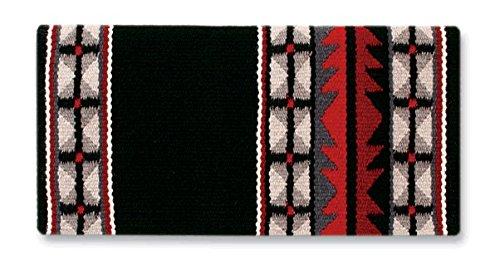 Mayatex Mojave Saddle Blanket, Black/Ash/Charcoal/Cream, 36 x ()