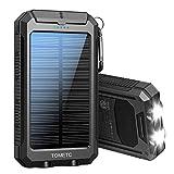Solar Power Bank 33800mAh Portable Solar Charger