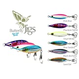 SHIMANO Butterfly Flat-Fall Jigs- Pack of 2