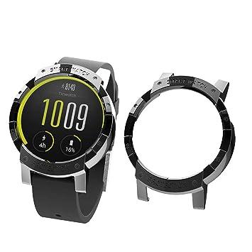 Sikai PC Case Cover Protect Shell Compatible con Ticwatch E Reloj Anti-Rasguños Moda Slim Colorido Marco Caso Cubierta Proteger para Ticwatch E ...