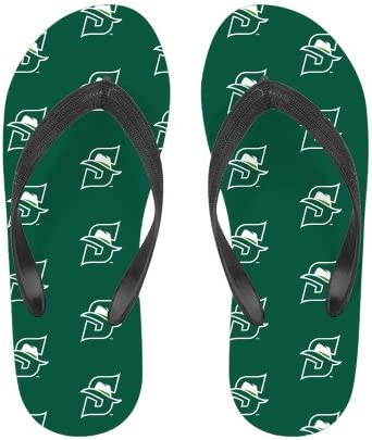 CollegeFanGear Stetson Ladies Full Color Flip Flops Primary logo