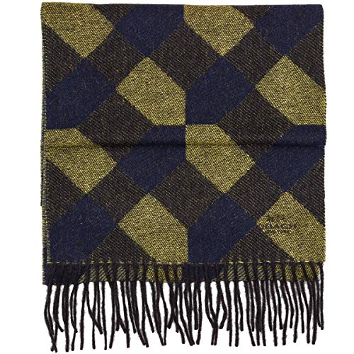coach cashmere wool blend scarf