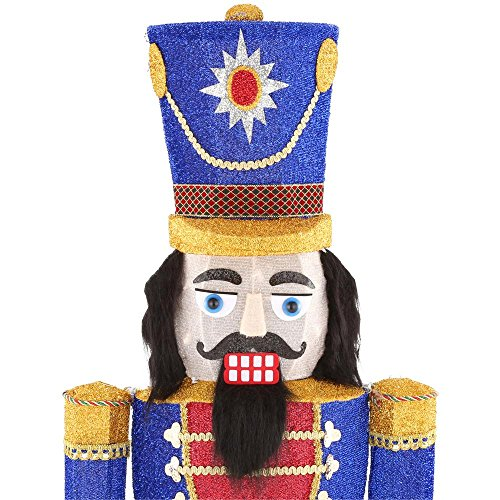 72IN 240L LED TINSEL NUTCRACKER by Home Accents Holiday (Image #4)