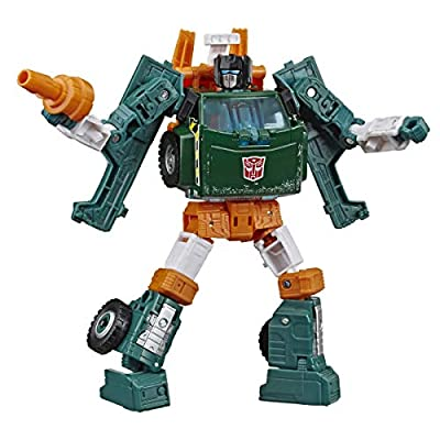 Transformers Toys Generations War for Cybertron: Earthrise Deluxe Wfc-E5 Hoist Action Figure - Kids Ages 8 & Up, 5: Toys & Games