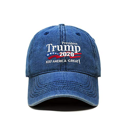 9d0c30b7 ChoKoLids Trump 2020 Keep America Great Campaign Embroidered USA Hat |  Baseball Bucket Trucker Cap (