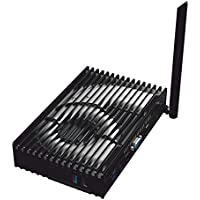 Fanless Mini Computer Mini PC 4GB 32GB MeLE PCG35 Apo Quad Core Intel Celeron J3455 Windows 10 HDMI 4K VGA LAN WiFi HDD M.2 SSD