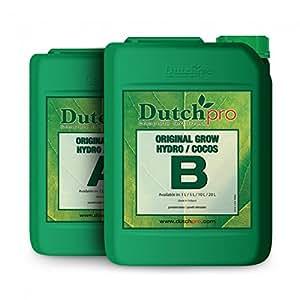 DUTCH PRO jacquelien 5 litros 5L a hidrográfico moreinks B + nutrientes vegetales hidropónicos agua dura