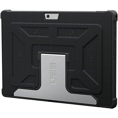 Pro Aluminum Hard Case (UAG Microsoft Surface Pro 3 Feather-Light Composite [BLACK] Aluminum Stand Military Drop Tested Case)