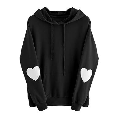 best loved 38656 30119 Felpe Cuore Ragazza Hip Hop Sweatshirt Autunno Inverno ...