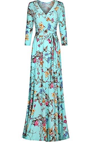 Buy maxi dress 3/4 length sleeves - 2