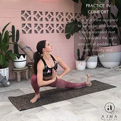 Amazon.com: Ajna Eco - Esterilla de yoga orgánica ...