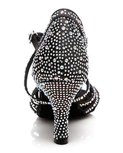 Minitoo Da Black 8cm Donna Sala Minitoouk l357 Heel ra1Fwqrz4