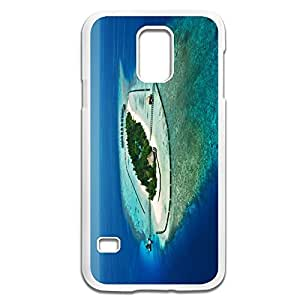 Samsung Galaxy S5 Cases Tropical Design Hard Back Cover Shell Desgined By RRG2G