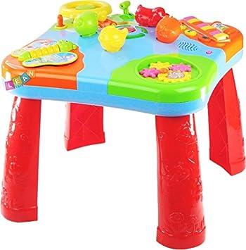 Mesa de Actividades Aprendizaje Para Bebé - Efecto de Luz y Sonido ...