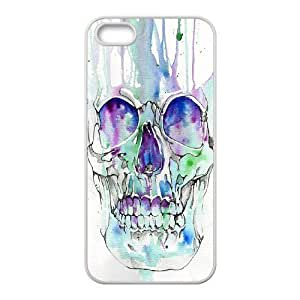 taoyix diy skull ZLB815598 Personalized Phone Case for Iphone 5,5S, Iphone 5,5S Case