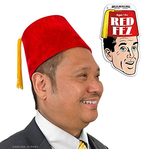 Costumes Horsehead (Accoutrements Red Velour Fez)