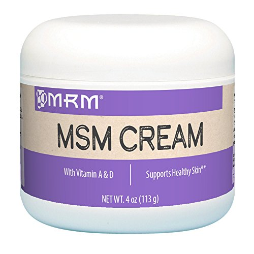 MRM,  MSM Cream, Net Wt. 4 Oz.