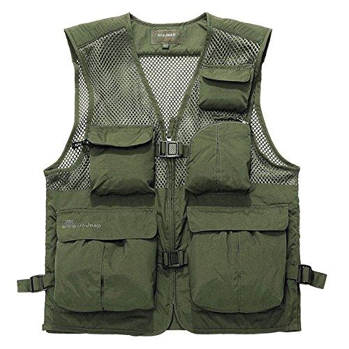 Chest Pocket Mesh Vest - 1