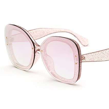 LIZHIQIANG Gafas De Sol Femeninas Sin Marco De La Manera ...