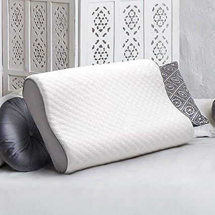 Bedsure Almohada de Espuma viscoelástica para Cama – Resistente al Polvo, hipoalergénico y Ideal para