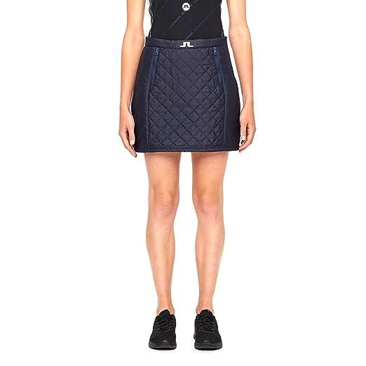 65d7742bd6d Amazon.com  J.Lindeberg Women Jade Quilted Nylon Golf Skirt JL Navy  X-Large  Sports   Outdoors