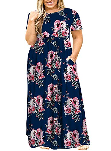POSESHE Plus Size Dresses 2019
