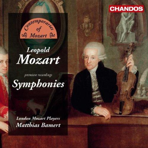 Leopold Mozart: Symphonies (premiere recordings)
