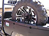 Polaris Ranger & General R-800 ST Portable Spare Tire Mount Hornet Outdoors Made in USA