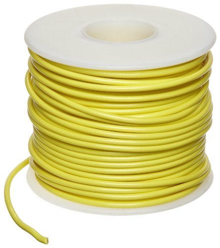 GPT Automotive Copper Wire, Yellow, 18 AWG, 0.0403