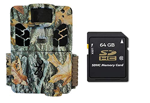 Browning Trail Cameras BTC6HDAPX Dark Ops HD Apex Trail Camera Bundle Includes 64GB Memory Card