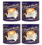 Victorian Inn Instant Cappuccino, French Vanilla, 32-Ounce Canisters (Pack of 4)