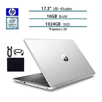 Amazon.com: 2019 más reciente HP. Ordenador portátil de 17,3 ...
