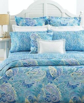 Lauren By Ralph Lauren Bedding Jamaica Blue Paisley Full