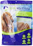 Barkworthies USA Chicken Jerky Chews in Bag for Pets, 1-Pound
