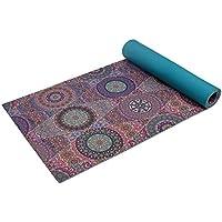 Trideer Yoga Mat, Premium Print 1/4 Inch 6mm Non Slip...